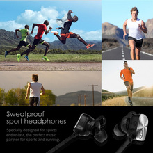 Mpow Wolverine Wireless Bluetooth 4.1 Earphone Metal Wireless Headphones In-Ear Sport Mic Stereo Headset Non-magnetic Control