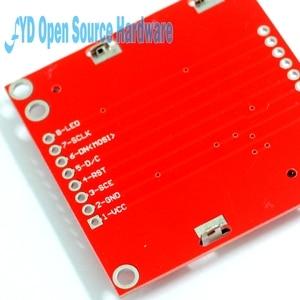 Image 4 - Wysokiej jakości moduł 84X48 84x84 LCD czerwony podświetlenie adapter PCB dla Nokia 5110 dla