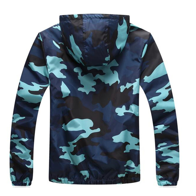 Plus Size 5XL Spring Autumn Jacket Mens Casual Camouflage Hoodie Jackets And Coats Clothes Men's Windbreaker Coat Male Outwear  1