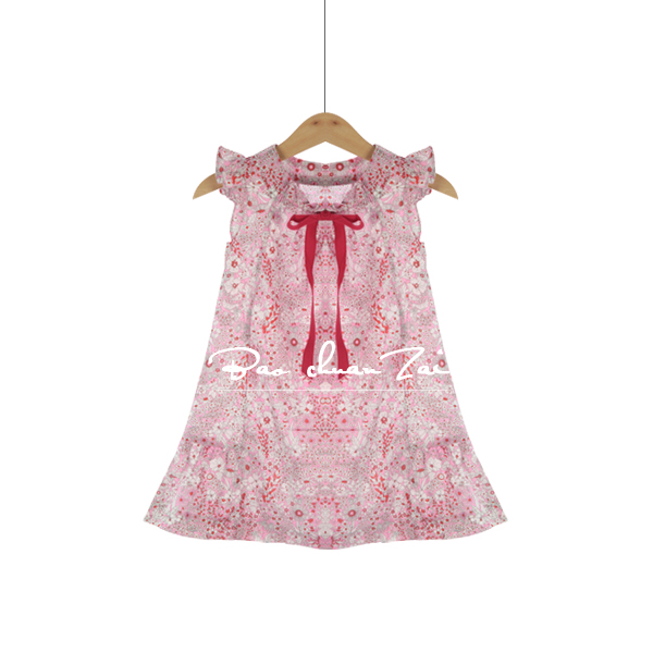 Princess Dress Girls Clothes 2017 Brand Girls Dresses Long Sleeve Children Dress Kids Clothes Rose Flower Girls Christmas Dress girls dresses long sleeve 2017 spring brand kids dress for girls clothes baby infant animal flower princess costumes children