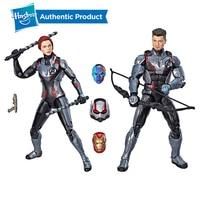 Hasbro Marvel Legends Series Black Widow Marvel's Hawkeye Figure 2 Pack Legends Team Suit 2PK Avengers 6 Inches Ant Man