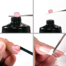 Gelike 60g PolyGel Poly Gel Soak Off PolishNail Enhancement System French Pink Manicure Jelly Acrylic