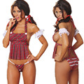 2016 Hot Cosplay jovens Estudantes carregado Sexy underwear mulheres Sexy lingerie Backless trajes Produtos Do Sexo brinquedo dramatização estudante