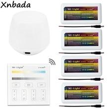 Milight wifi IBOX1 светодиодный контроллер 2,4G FUT035 CCT светодиодный диммер DC12-24V B2 CCT Цветовая температура Светодиодная сенсорная панель дистанционного управления