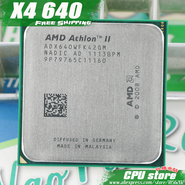 AMD ATHLON 2 X4 640 WINDOWS XP DRIVER