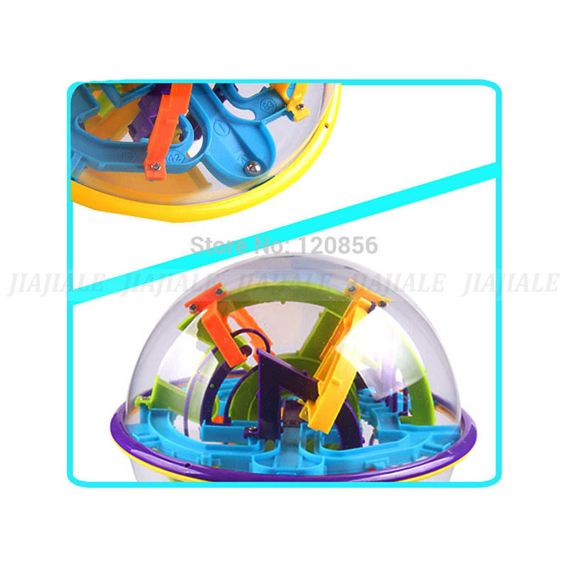Practical 17cm 158 Steps 3d Puzzle Ball Magic Intellect Ball Educational Toys Puzzle Balance Iq Logic Ability Game For Children Adults Toys & Hobbies Puzzles