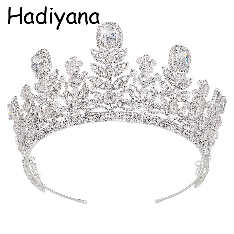 Hadiyana Vintage Gold Tiara Baroque Headband Crown Flower Hairband Wedding Hair Jewelry Bridal Crowns With Factory Price HG6036 нож opinel tradition 07 длина лезвия 80мм 000693