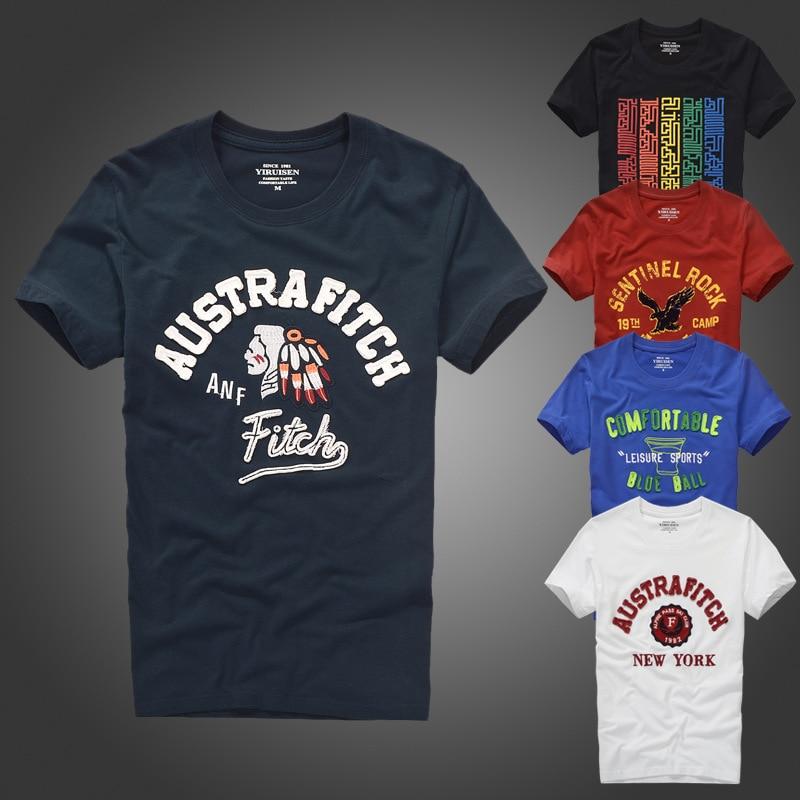 T-shirt Sommar t-shirt för manar för mäns högkvalitativa brevmönster storlek S till XXXL