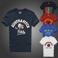 T shirt Fashion men summer tshirt high quality letter pattern size S to XXXL