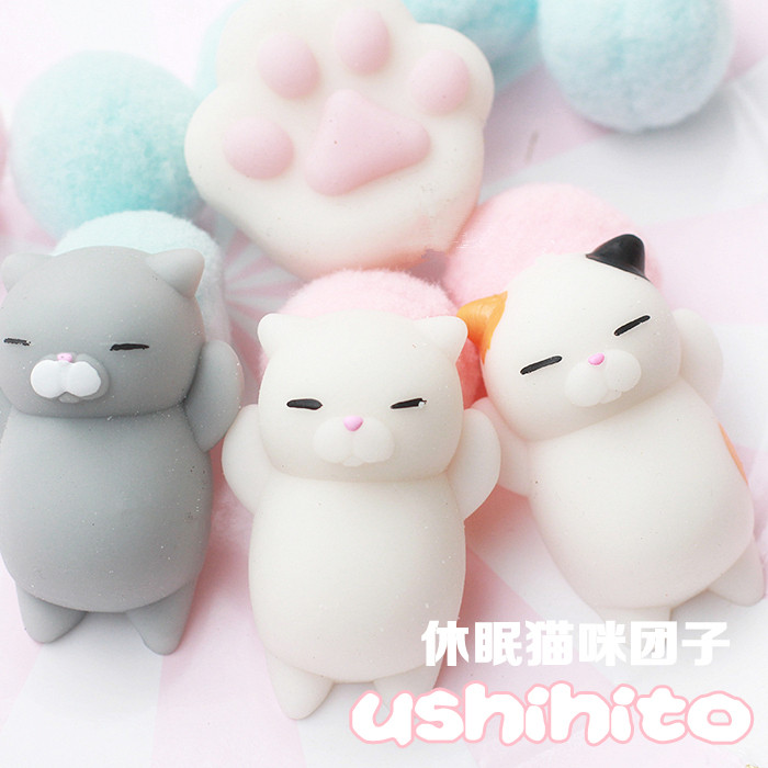 Squishy Little Animals : Aliexpress.com : Buy squishy cat kawaii squishies animals toys gatto slow rising moblie Phone ...