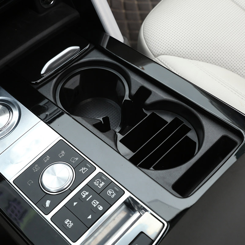 For Land Rover Discovery 5 L462 LR5 2017 2018 Car Styling Plastic Central Console Multifunction Storage Box Phone Tray Accessory