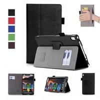Luxury Tablet Case For Lenovo Tab 4 8 Plus Flip Stand Cover For Lenovo TAB4 8
