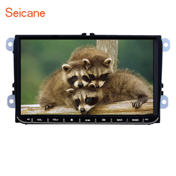 Seicane android GPS audio Stereo For VW/Volkswagen/Golf/Polo/Tiguan/Passat/b7/b6/SEAT/leon/Skoda/Octavia car multimedia player