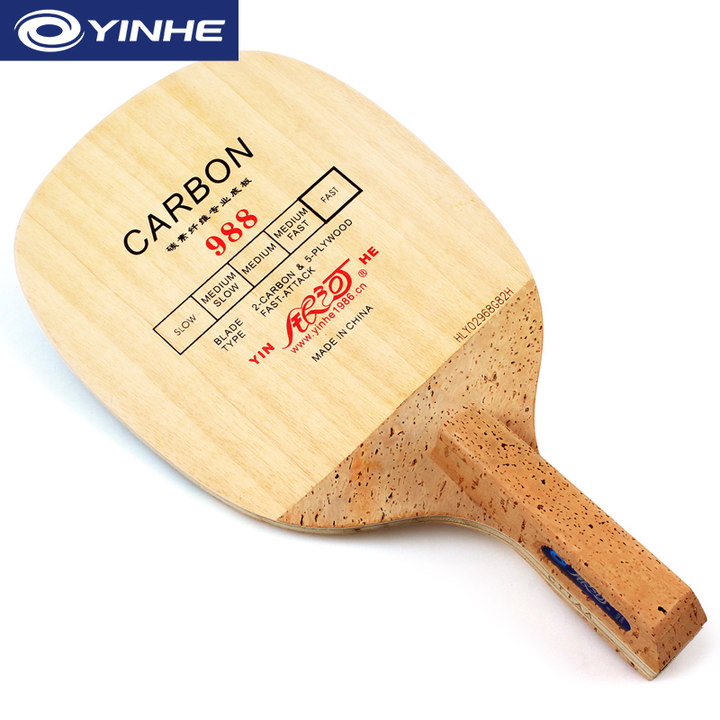 YINHE 988 (5+2 Carbon, Fast attack) Table Tennis Blade Japanese Penhold JS Racket Ping Pong Bat