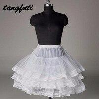 Black And White Mini Tutu Short Petticoat Girl Tulle Underskirt For Wedding Dress Crinoline Skirt Jupon
