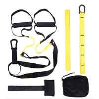 One Set Resistance Bands Hanging Belt Tension Pull Rope Straps Training Sport Gym Workout Fitness Suspension Exercise Equipment