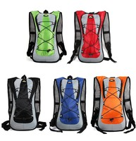 TPU 2L Straw Water Bag Backpack Men And Women Surperlaight Hiking Running Cycling Water Bladder Backpack