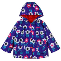 2018 Spring Autumn Girls Clothes Hooded Waterproof Raincoat Jackets For Kids Long Sleeve Outerwear Coats Children