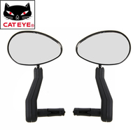 CATEYE Bike Mirror MTB Road Bicycle Rear View Mirror Back Sight Eye Blind Spot Mirror Wide Angle Safety Rearview Bike Mirrors