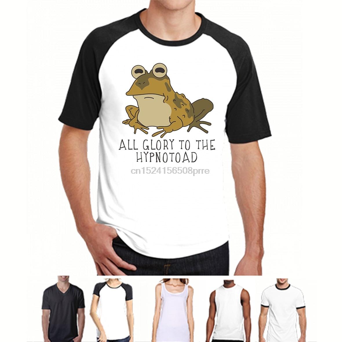 100% Cotton O-neck Custom Printed Tshirt Men T Shirt Hypnotoad - Hypnotoad Women T-shirt Superior Materials