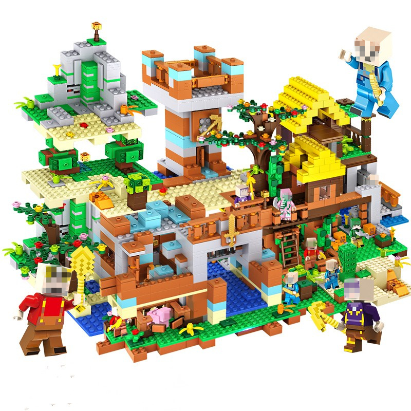 Toys, Bricks, Legoed, City, Compatible, DIY