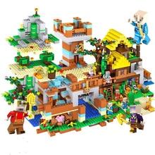 hot deal buy diy blocks my happy world compatible with legoed city building blocks bricks set educational enlighten toys for children