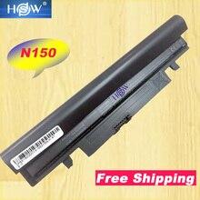 משלוח חינם חדש 5200 mAh סוללה עבור סמסונג N145 N148 N150 N250 N250P N260 N260P בתוספת שחור