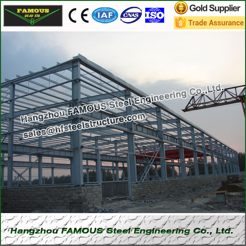 Excellent Quality Steel Structure Fabricated For Industrial And Agricultructural Building