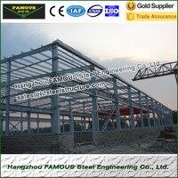 Uitstekende kwaliteit stalen structuur gefabriceerd voor industriële en agricultructural building