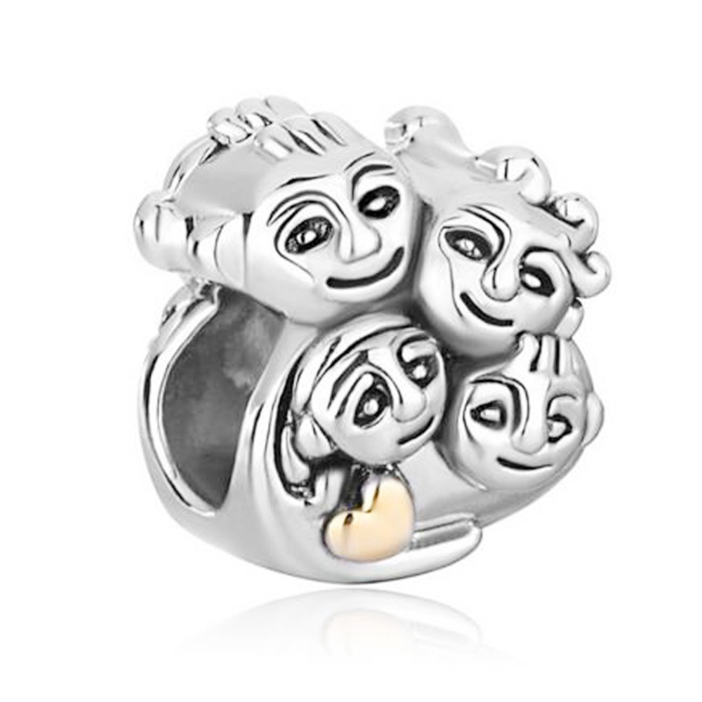 Free Shipping Mother Daughter Family Love Mom Dad Son Charm Bead Fit Pandora Bracelet Bead Bracelet Silver Beading Tweezersbead Bracelet Supplies Aliexpress