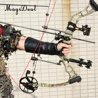 MagiDeal Archery Bow Hand Protection Glove Arm Safety Guard Gear for Outdoor Hunting