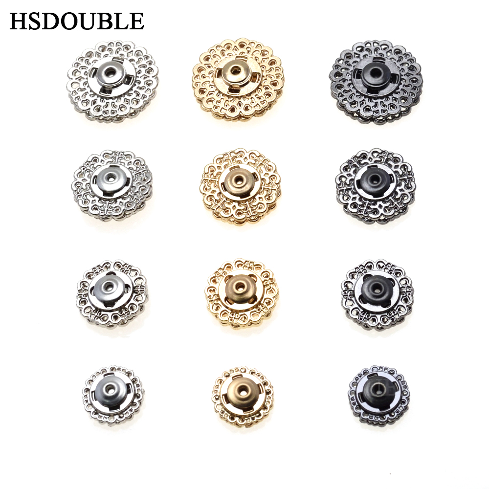 3pcs Pak Metal Rhinestone Button Sewing Craft Buttons for garment accessory