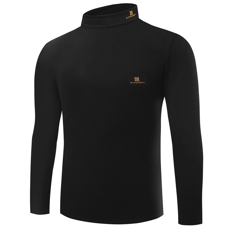 HOT! Marke givenchy hoher kragen cashmere männer langarm T-shirt winter warme Business...