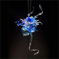 Nova Chegada Preço Barato Glass Chandelier Grande Decoração Artística Tradicional Tipo de Mão De Vidro Soprado Luz Lustre de Cristal
