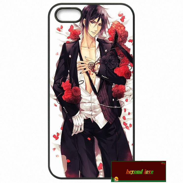 Kuroshitsuji Black Butler Cover case for iphone 4 4s 5 5s 5c 6 6s plus samsung galaxy S3 S4 mini S5 S6 Note 2 3 4 z0928