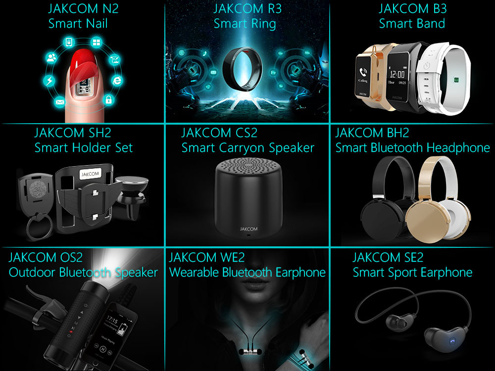 JAKCOM BH2 Smart Bluetooth Headset New Product of Smart Electronics Bluetooth Headphone Gamer Multifunctional With Micphone