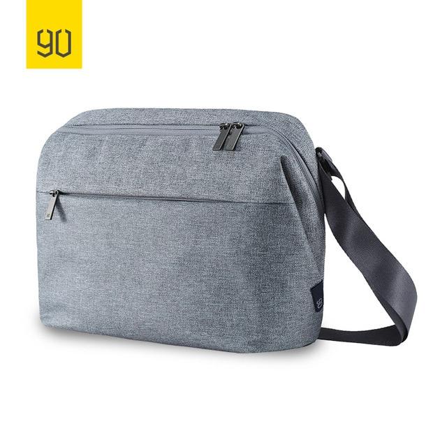 XIAOMI 90FUN Cidade Série Concisa Ombro Mensageiro Crossbody Bag Resistente À Água Ocasional Das Mulheres Dos Homens Laptop Mochila para a Escola