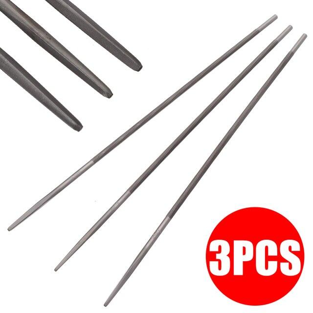 3pcs Round Chainsaw Saw Chain Files Sharpening Chainsaw Chains Hand ToolsA A