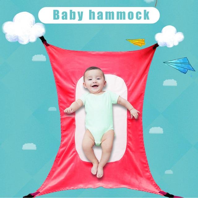 Bebê Infantil Kit Camping Hammock Ao Ar Livre Casa Portátil Destacável Cama Confortável Bebê Pendurado Cama Dormindo ePacket frete grátis
