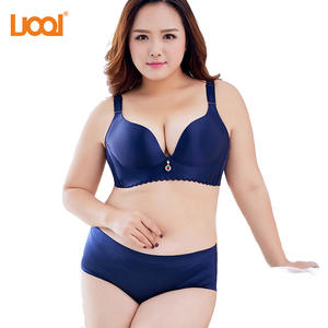 3dc54892085d UOOI 2018 Underwear Push Up Panty Cup Bra and Brief Sets
