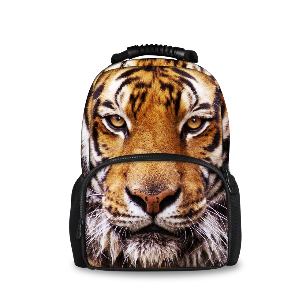 Tiger Printed Custom School Backpack for Teenagers Cute Kids Large Fashion Backpack Casual School Bags Animal Male Drop ShippingTiger Printed Custom School Backpack for Teenagers Cute Kids Large Fashion Backpack Casual School Bags Animal Male Drop Shipping