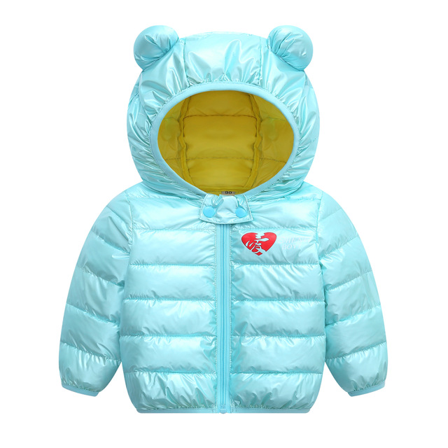 Autumn Winter boys warm Jacket For Girls Christmas Coat Baby Girls Jacket Lamb cashmere Kids Hooded Outerwear Infant Girls Coat