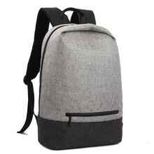 Школьный рюкзак высокое качество рюкзак мужской студент сумка рюкзак для 15 дюймов ноутбука Мужская Back Pack водоотталкивающая