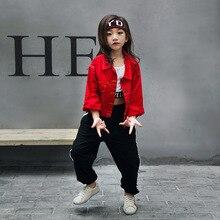 Niños adultos Primavera Verano ropa de los niños trajes hip hop danza Pantalones  niños niñas Jazz 65dd08bbb7a