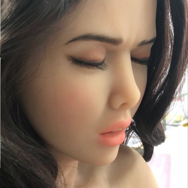 Close eyes <font><b>doll</b></font> <font><b>sex</b></font> <font><b>doll</b></font> head with oral <font><b>sex</b></font> love <font><b>dolls</b></font> for big size 135cm/140cm/148cm/<font><b>153cm</b></font>/152cm/155cm/158cm/163cm/165cm/170cm image