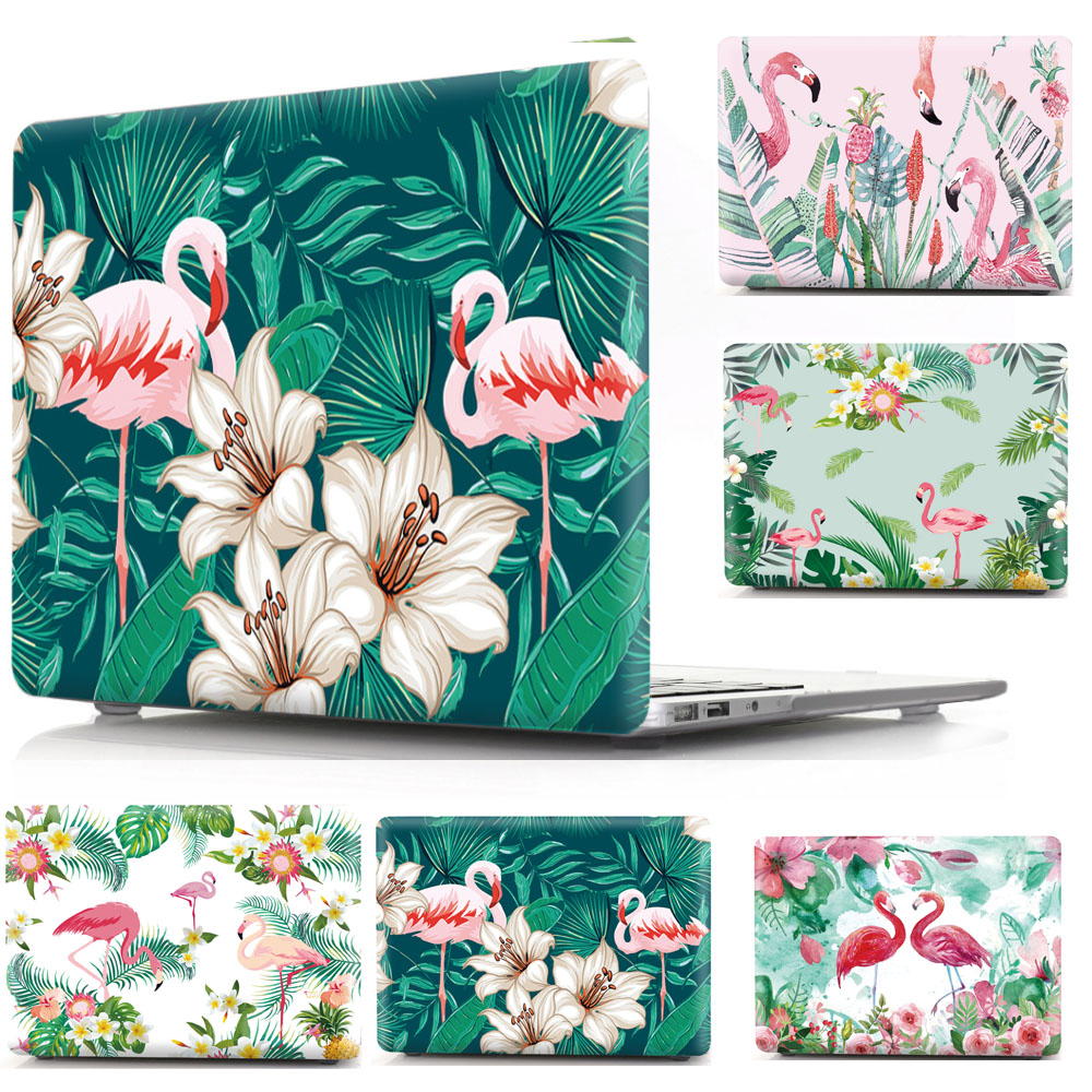 Flamingos Cover Case for Apple Macbook Pro 16 Retina Bag for Mac book 16 inch Protective Shell sleeve