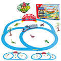 Томас и Друзья Trackmaster Устанавливает Электрический Вагон Трек С Динозавров Поставляются С Оригинальной Коробке Томас Поезда Игрушки Для Детей