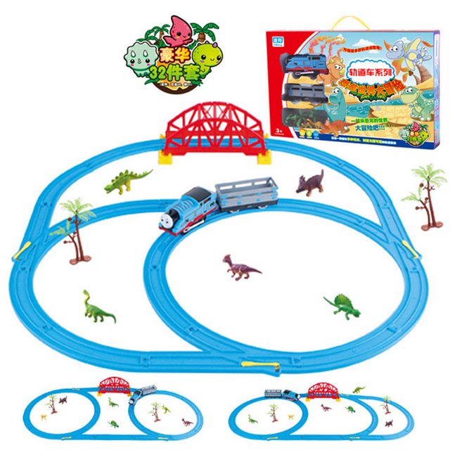 thomas and friends trackmaster sets electric rail car track with dinosaur come with original box thomas