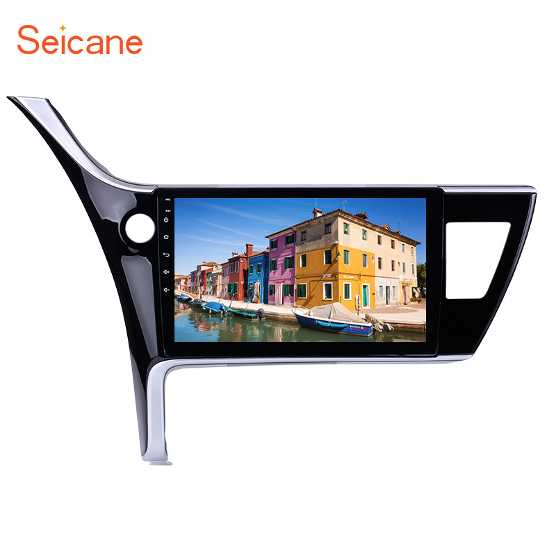 Seicane 2 Din Android 8.1 Stereo Screen Radio Multimedia Player Wifi GPS Navi 10.1