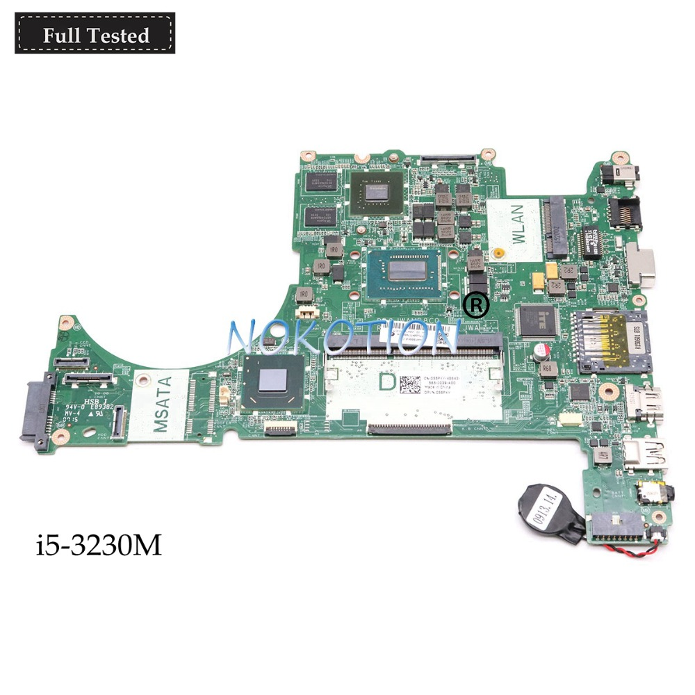 NOKOTION CN-055PXY 055PXY 55PXY DA0JWAMB8C0 laptop motherboard For dell Vostro 5560 <font><b>i5</b></font>-<font><b>3230M</b></font> GeForce GT630M Main board full test image